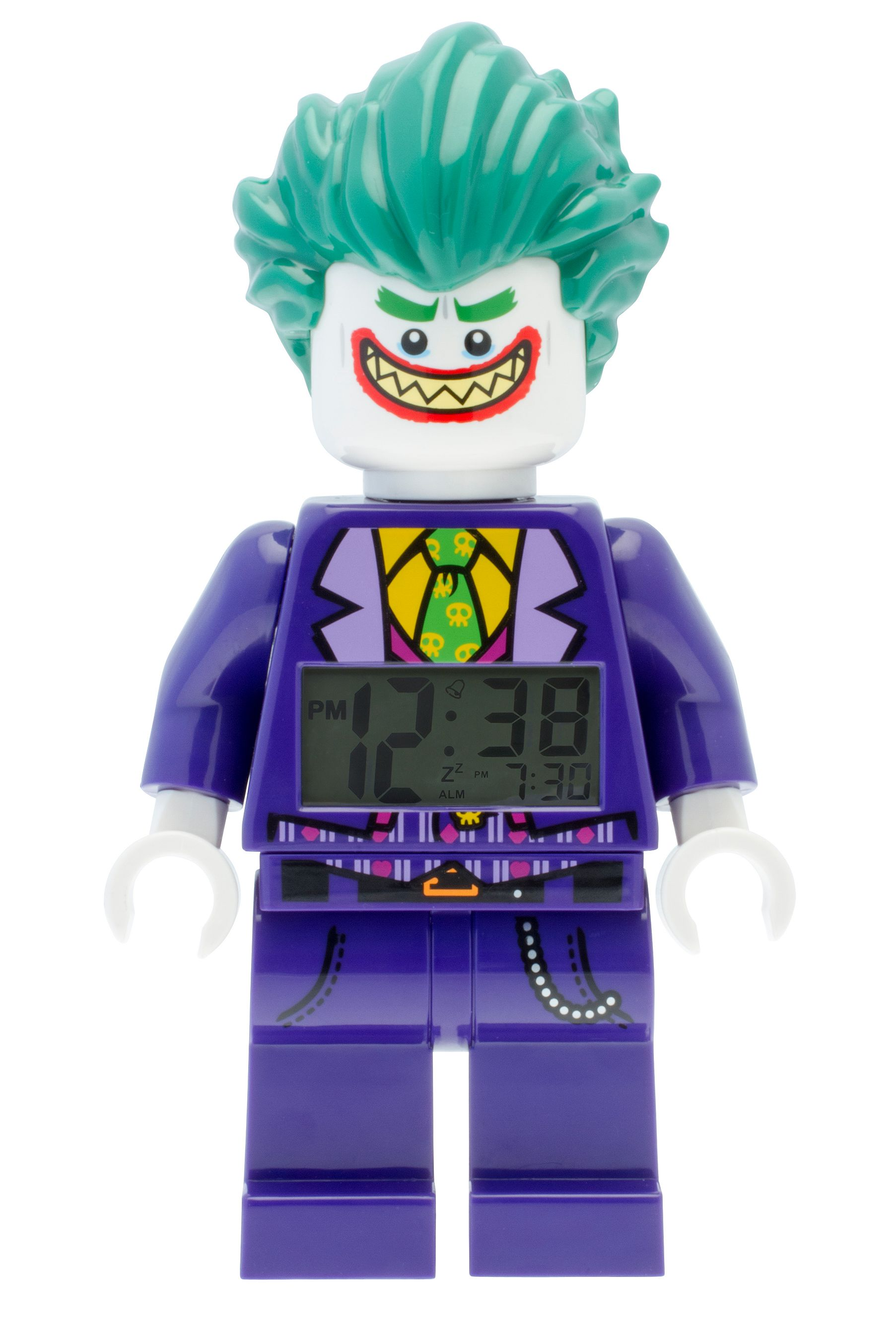 THE LEGO® BATMAN MOVIE The Joker™ Minifigure Alarm Clock ...