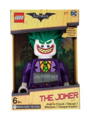 THE LEGO® BATMAN MOVIE The Joker™ Minifigure Alarm Clock