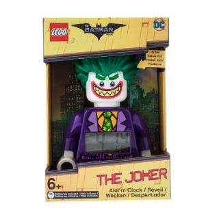 THE LEGO® BATMAN MOVIE The Joker™ Minifigure Alarm Clock