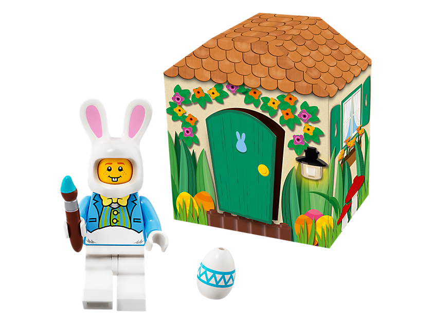 LEGO Easter Bunny Hut