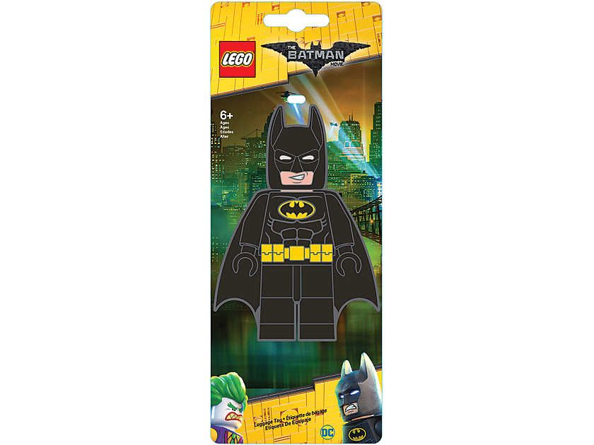 THE LEGO BATMAN MOVIE Batman Luggage Tag