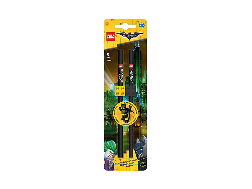THE LEGO BATMAN MOVIE Pencils with Toppers