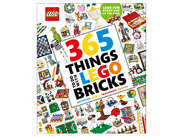 Feel inspired every day of the year with 365 Things to Do with LEGO® Bricks, featuring fun projects and challenges, plus a countdown timer and activity selector.