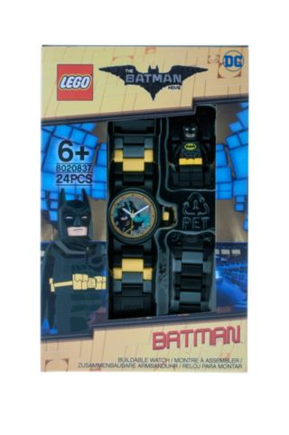 THE LEGO® BATMAN MOVIE – Kinderuhr mit Batman™ Minifigur