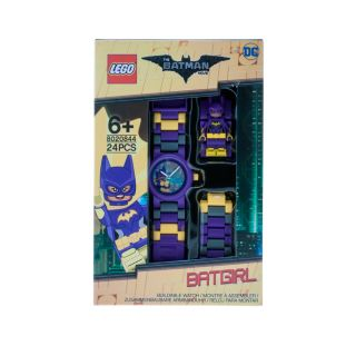 THE LEGO® BATMAN MOVIE – Kinderuhr mit Batgirl™ Minifigur