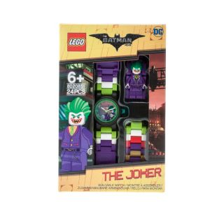 THE LEGO® BATMAN MOVIE – Kinderuhr mit The Joker™ Minifigur