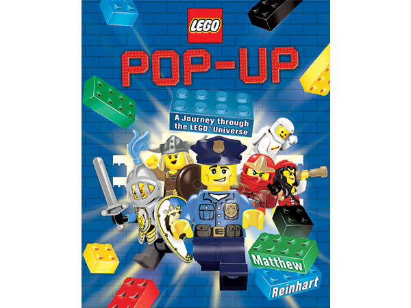 <p>Learn the LEGO® story with this interactive LEGO Pop-Up book, narrated by Professor von Brickhausen and featuring pop-ups, pull-tabs, spinning wheels, mini accordion books and maps.</p>