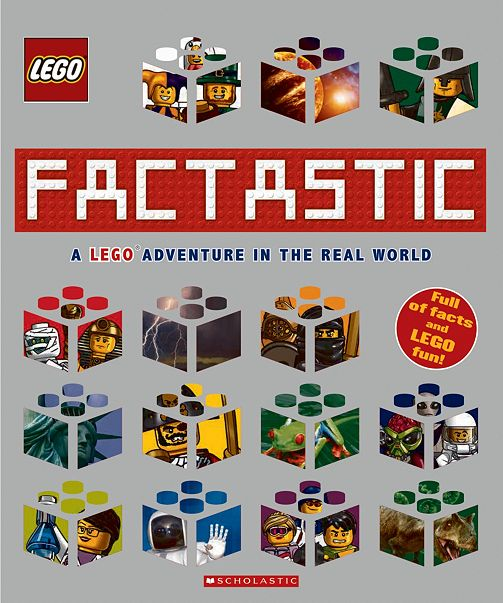 Livre Factastic: A LEGO® Adventure in the Real World