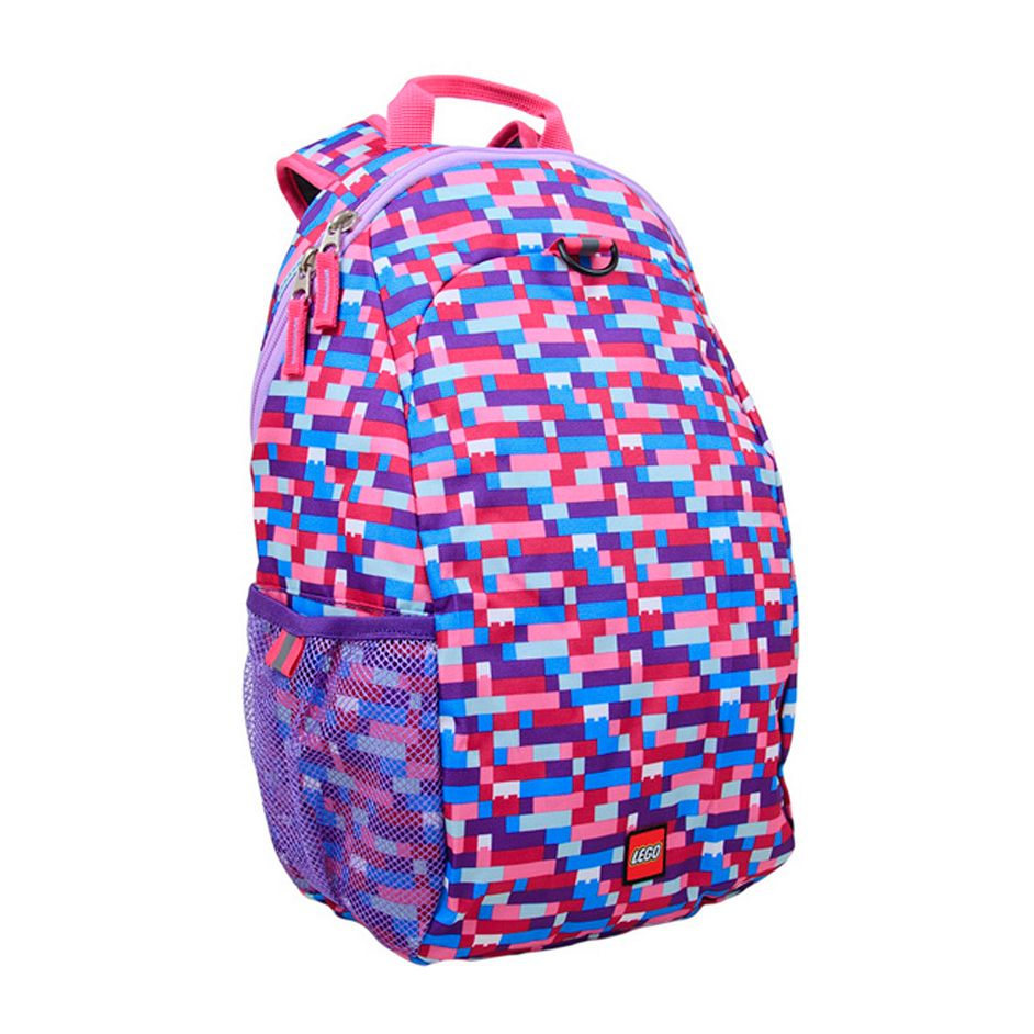 LEGO® Pink/Purple Brick Print Heritage Backpack