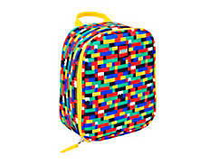 LEGO® Red/Blue Brick Print Lunch Bag