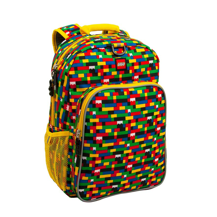 LEGO® Red/Blue Brick Print Eco Heritage Backpack