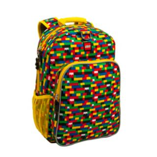 LEGO® Red/Blue Brick Print Eco Heritage Backpack
