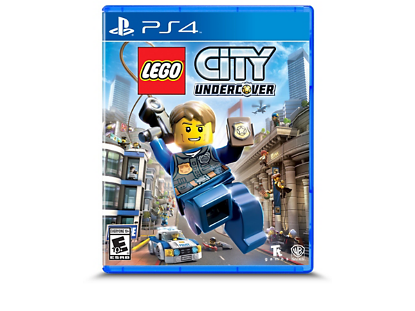 Hunt down the crooks as undercover officer Chase McCain in the LEGO® City Undercover PlayStation® 4 Video Game, with a huge play area, loads of vehicles and playable characters.