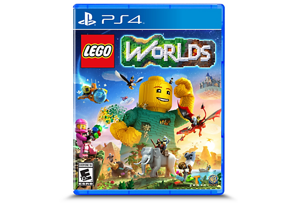Explore, create, customize and populate virtual LEGO® brick worlds with the LEGO Worlds PLAYSTATION® 4 Video Game, featuring a brick-by-brick editor and environment-shaping multi-tools.