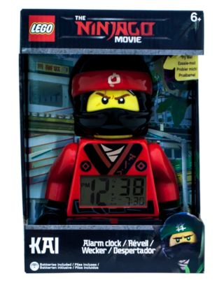 THE LEGO® NINJAGO® MOVIE™ Kai Minifigure Alarm Clock