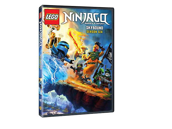 Follow the ninja's fight to prove their innocence and stop evil Nadakhan in LEGO® NINJAGO® Masters of Spinjitzu: Season Six – Skybound with 10 exciting episodes on 2 DVDs.