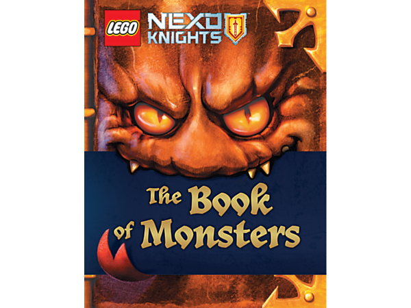 Open The Book of Monsters if you dare! Learn about the vile villains and heroic warriors from the world of LEGO® NEXO KNIGHTS™ in this fun, 96-page book with poster and Dark Drop NEXO Power included.