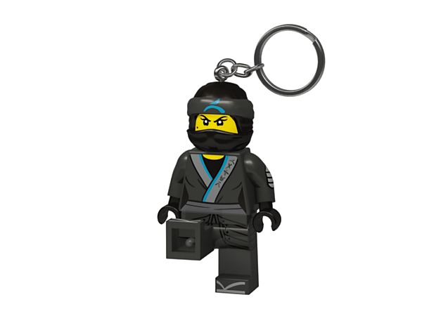 <p>Illuminate every ninja mission with THE LEGO® NINJAGO® MOVIE™ Nya Key Light, featuring a large, posable minifigure key chain with bright LED lights and an auto shut-off switch.</p>