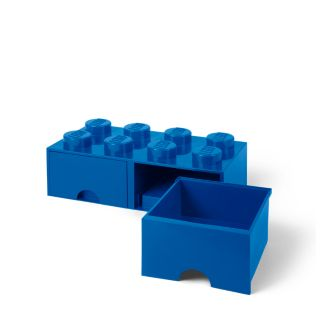 LEGO® 8-stud Bright Blue Storage Brick Drawer