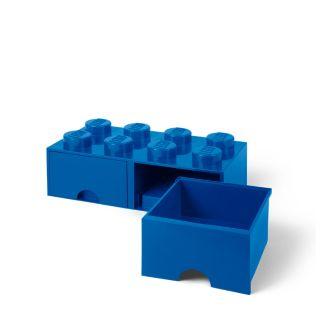 LEGO® 8-stud Bright Blue Storage Brick Drawer
