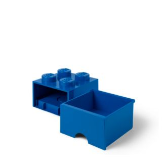 LEGO® 4-stud Bright Blue Storage Brick Drawer