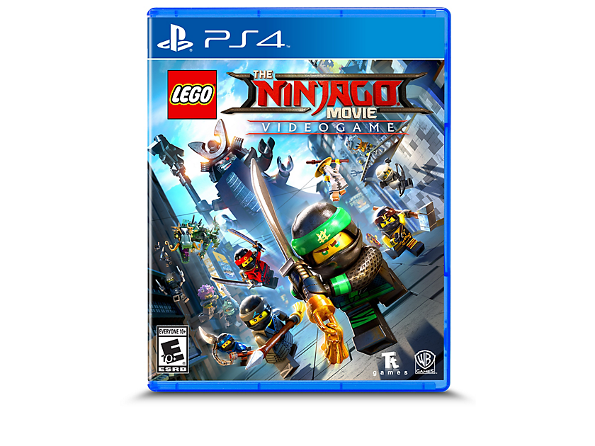 THE LEGO® NINJAGO® MOVIE Video Game  -  PlayStation® 4