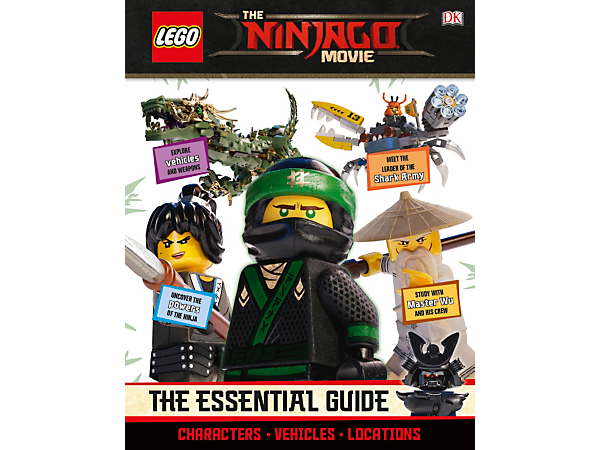 <p>Discover everything there is to know about the ninja heroes' big-screen debut in the full color, 64-page THE LEGO® NINJAGO® MOVIE™ The Essential Guide.</p>