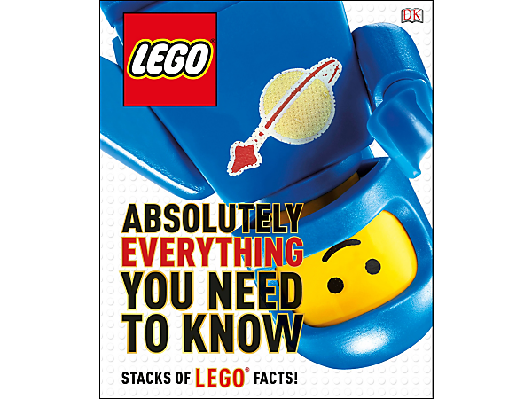 <p>Learn loads of wild and wonderful facts, figures and trivia about LEGO® brick universe with this 240-page, full-color LEGO Absolutely Everything You Need to Know book.</p>