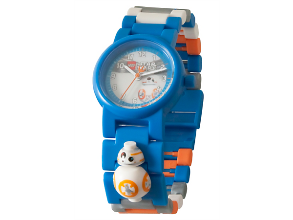 Keep space time with this LEGO® Star Wars BB-8 Figure Link Watch, featuring a buildable strap with multicolored, interchangeable links and a sculpted BB-8 figure.