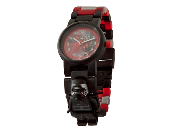 <p>Embrace the Force™ with this LEGO® Star Wars Kylo Ren Minifigure Link Watch, featuring a buildable strap with multicolored, interchangeable links and a sculpted Kylo Ren minifigure.</p>
