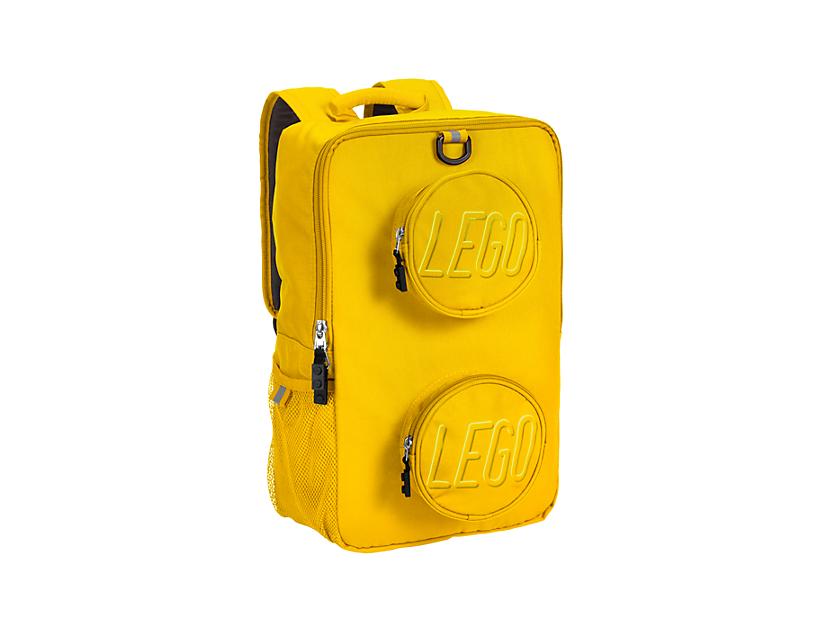 LEGO Brick Backpack Yellow