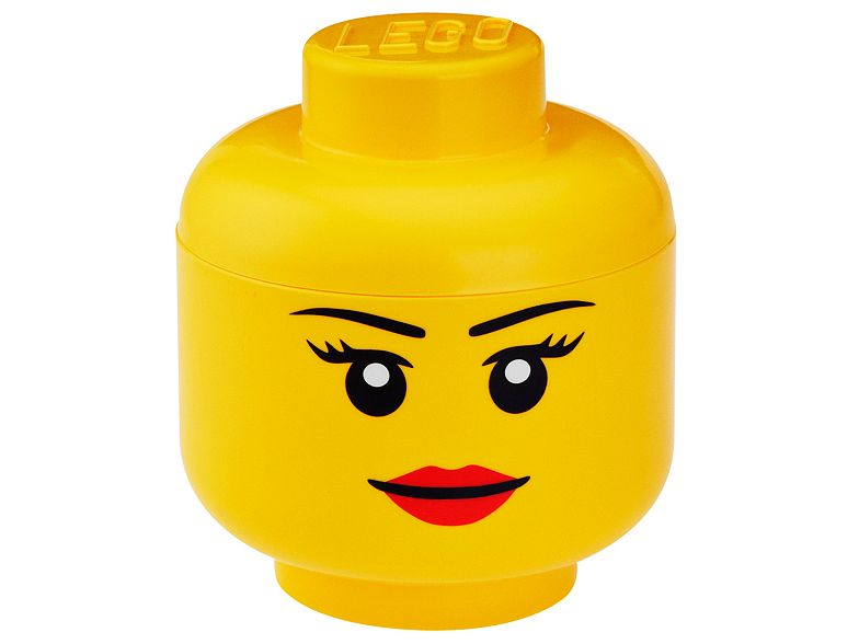 LEGO® Girl Storage Head – Small