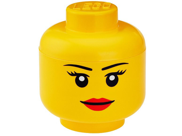 LEGO® Girl Storage Head – Large