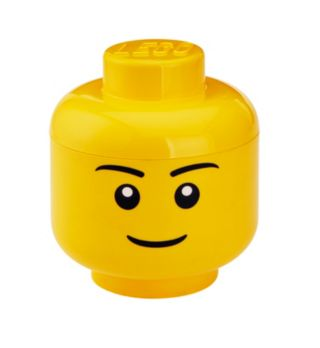 LEGO® Jungenkopf – Große Aufbewahrungsbox