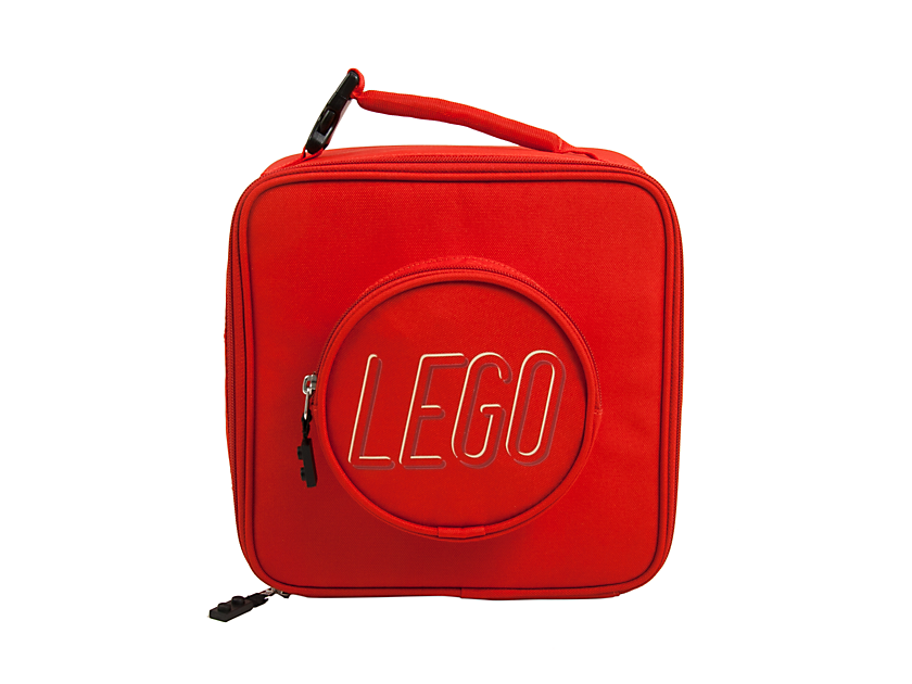 LEGO Brick Lunch Bag Red