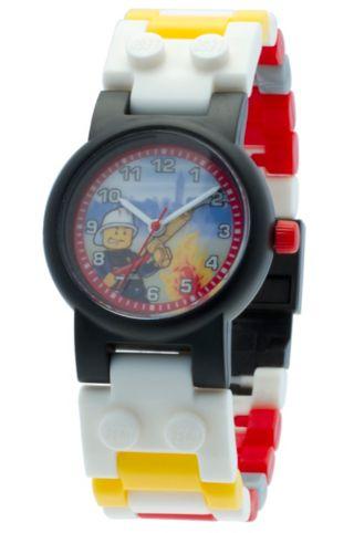 LEGO® City Firefighter Minifigure Link Watch