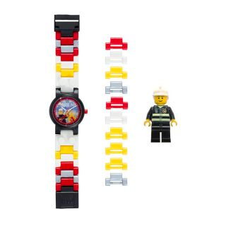 LEGO® City Firefighter Minifigure Link Watch