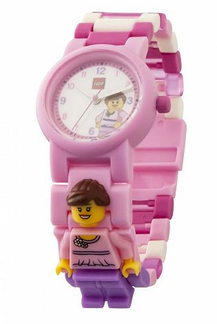 Montre à figurine rose