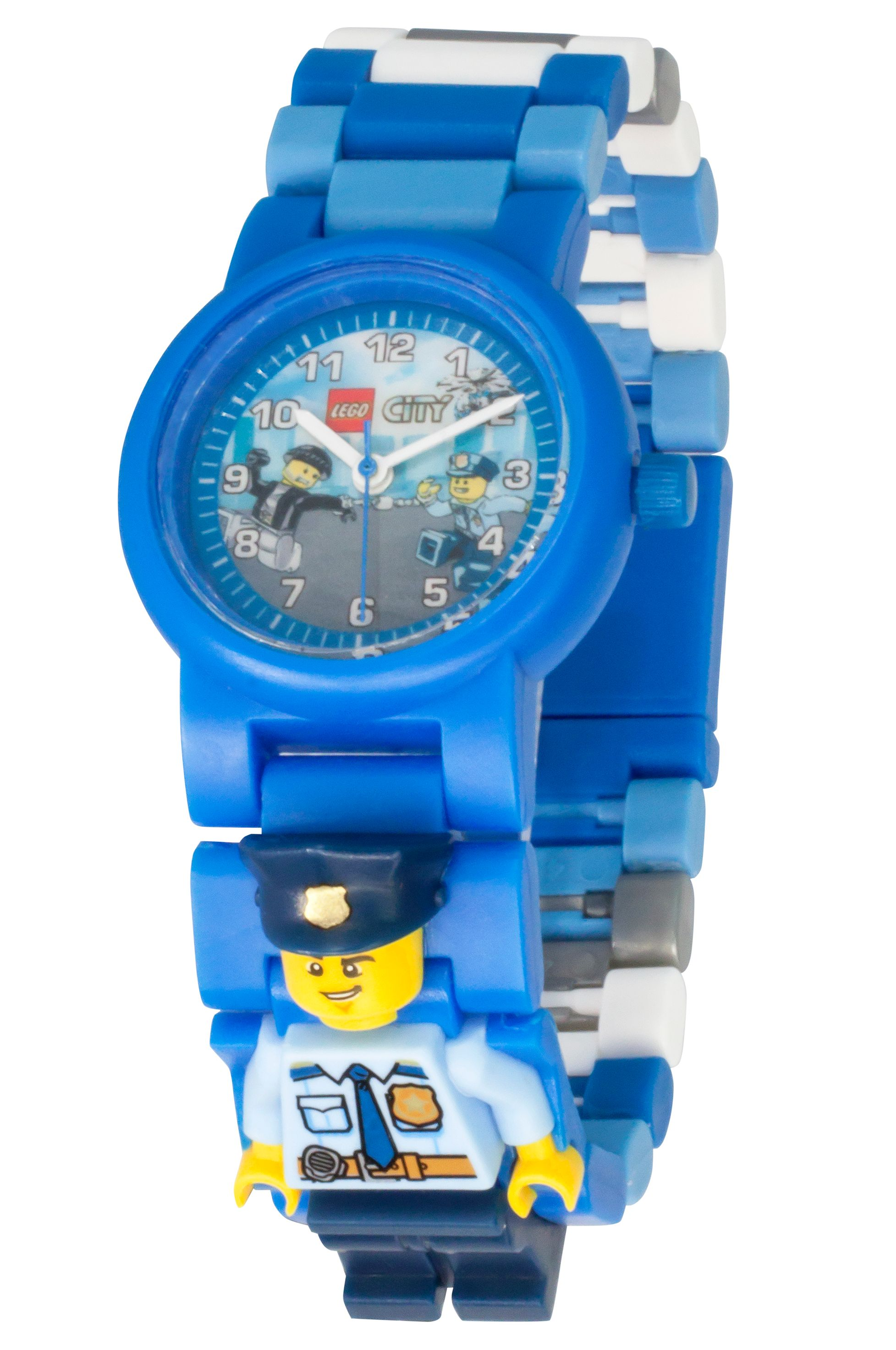 LEGO® City Police Officer Minifigure Link Watch 5005611 | City | Buy online at the Official LEGO ...