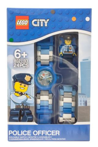LEGO® City Police Officer Minifigure Link Watch