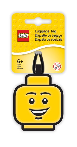 LEGO® Boy Luggage Tag