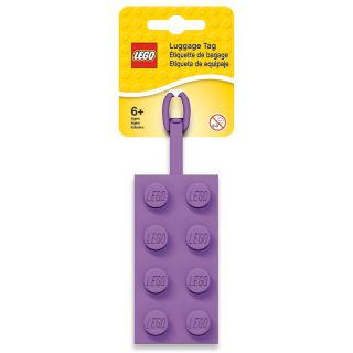 LEGO® 2x4 Lavender Luggage Tag