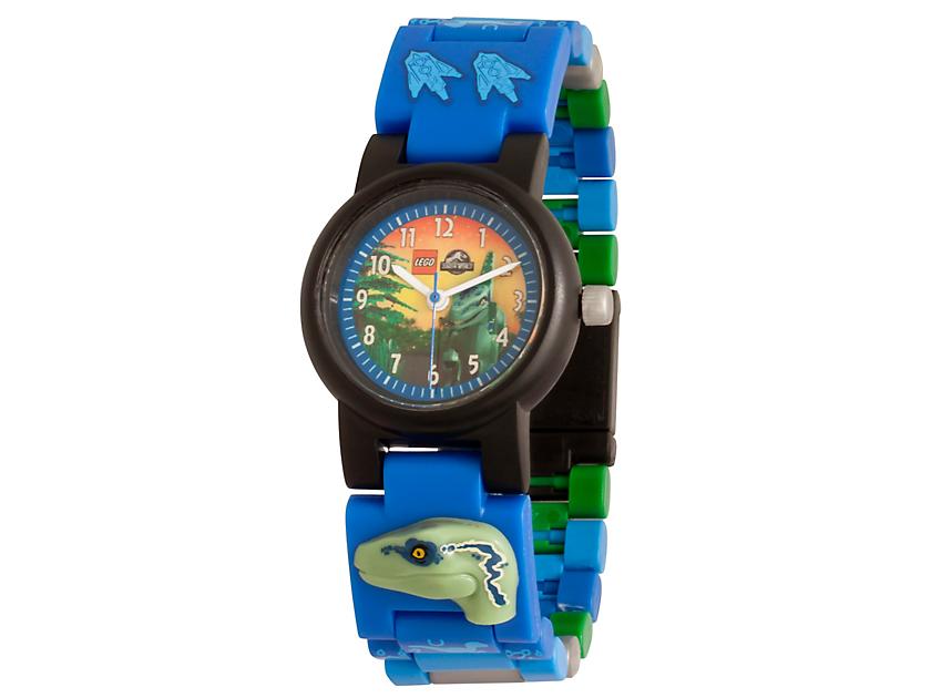 LEGO® Jurassic World™ Blue-Armbanduhr zum Bauen