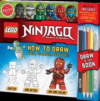 LEGO® NINJAGO® How to Draw Ninjas, Villains, and More!