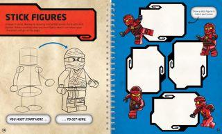LEGO NINJAGO How to Draw Ninja, Villains
