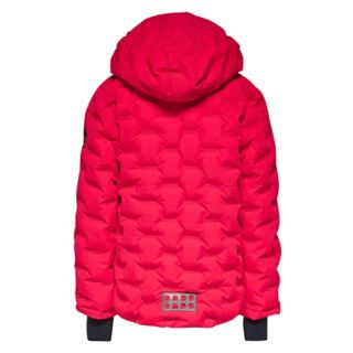 LEGO® Quilted Jacket – Coral Red