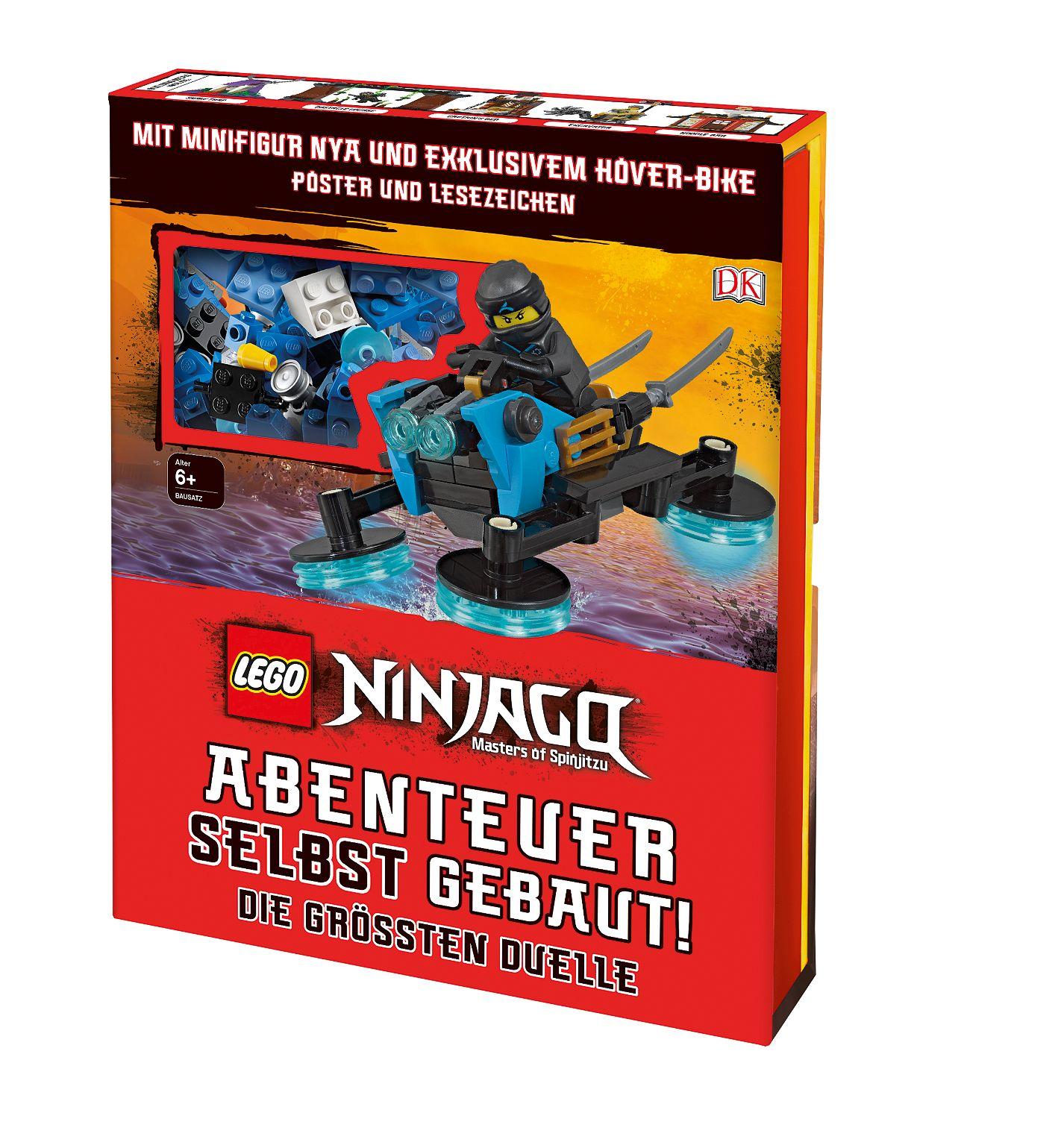 LEGO® NINJAGO® Abenteuer selbst gebaut!
