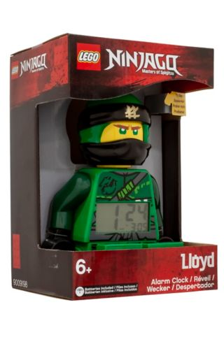 LEGO® NINJAGO® Lloyd Minifigure Alarm Clock