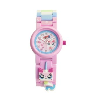 Reloj de pulsera para construir con figura de Unikitty de THE LEGO® MOVIE 2™