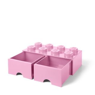 LEGO® 8-Stud Light Purple Storage Brick Drawer